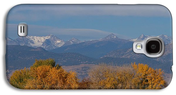 Boulder County Colorado Continental Divide Autumn View Galaxy S4 Case by James BO  Insogna
