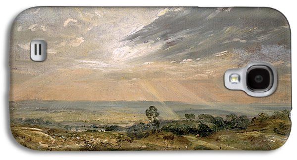 Branch Hill Pond Hampstead Galaxy S4 Case by John Constable