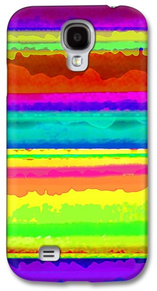 Bright Stripe Galaxy S4 Case