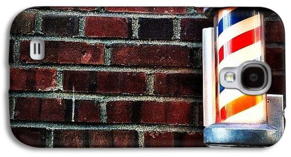 City Galaxy S4 Case - Brooklyn Barber Shop.  by Luke Kingma