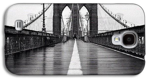 Summer Galaxy S4 Case - Brooklyn Bridge by Randy Lemoine