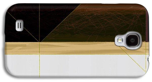 Brown Field Galaxy S4 Case by Naxart Studio