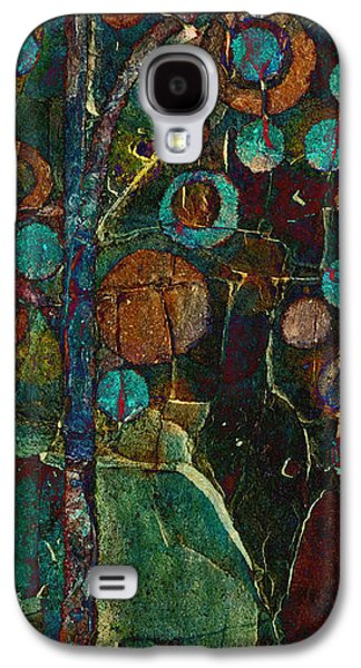 Bubble Tree - Spc01ct04 - Right Galaxy S4 Case by Variance Collections