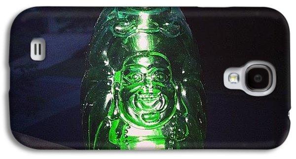 Decorative Galaxy S4 Case - Buddha Beer Bottle #buddha #bottle by Shikoba Photography