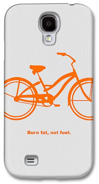 Burn Fat Not Fuel Galaxy S4 Case by Naxart Studio