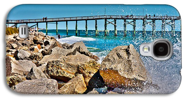 By The Pier Galaxy S4 Case by Betsy Knapp