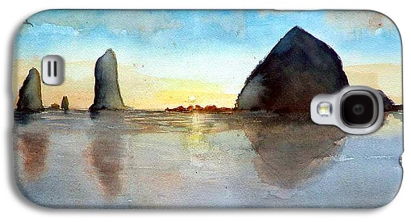 Cannon Beach Sunset Galaxy S4 Case
