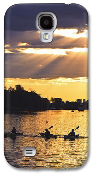 Canoeing Galaxy S4 Case by Elena Elisseeva