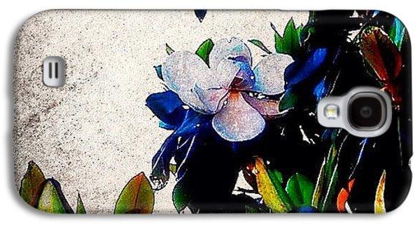 Edit Galaxy S4 Case - Canvas Magnolia by Mari Posa