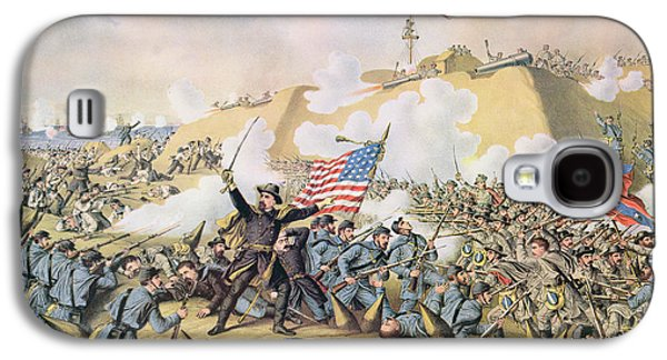 Capture Of Fort Fisher 15th January 1865 Galaxy S4 Case by American School