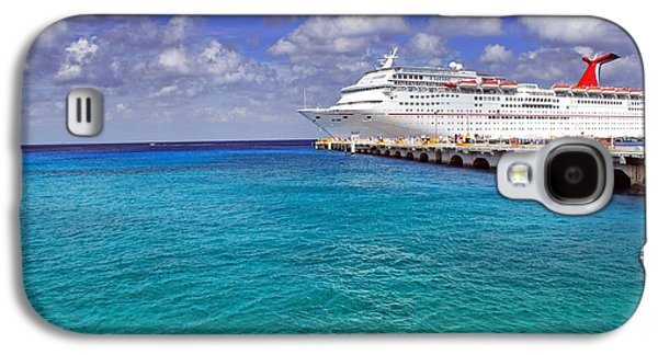 Carnival Elation Docked At Cozumel Galaxy S4 Case