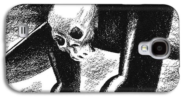 Cartoon: German Air Power Galaxy S4 Case