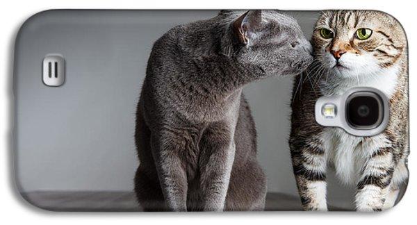 Cat Kiss Galaxy S4 Case