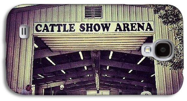 Ohio Galaxy S4 Case - Cattle Show Arena by Natasha Marco