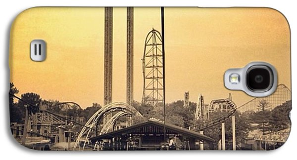 #cedarpoint #ohio #ohiogram #amazing Galaxy S4 Case by Pete Michaud