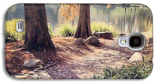 City Galaxy S4 Case - Central Park Early Morning by Randy Lemoine