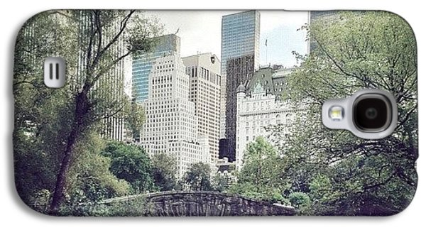 Summer Galaxy S4 Case - Central Park by Randy Lemoine