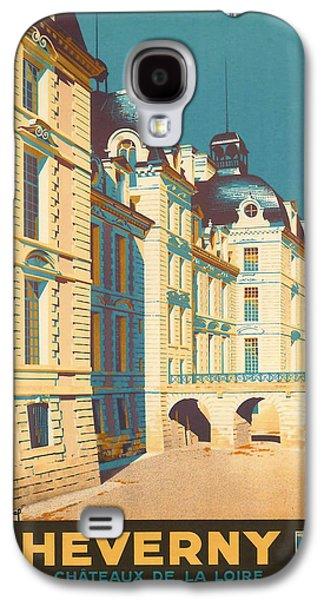 Chateau De Cheverny Galaxy S4 Case by Georgia Fowler