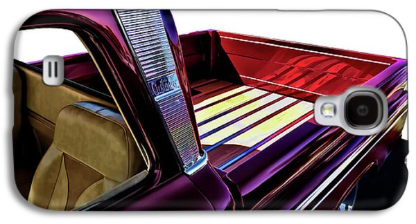 Truck Galaxy S4 Case - Chevy Custom Truckbed by Douglas Pittman