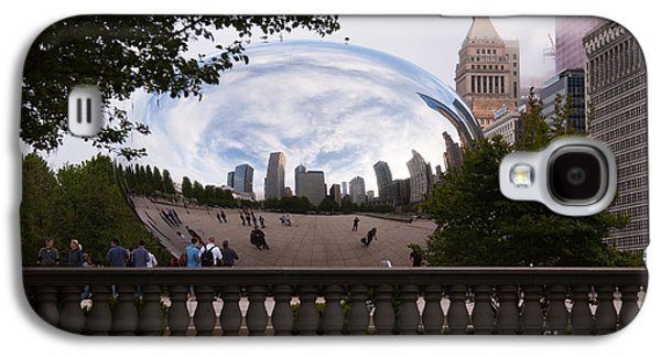 Chicago Cloud Gate Bean Sculpture Galaxy S4 Case