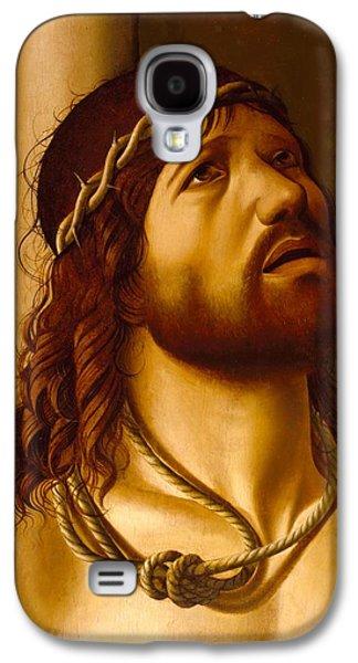 Christ At The Column Galaxy S4 Case by Antonio de Saliba