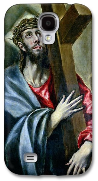 Christ Clasping The Cross Galaxy S4 Case by El Greco