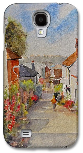 Church Hill - Hythe- Uk Galaxy S4 Case by Beatrice Cloake
