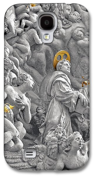 Church Of St James The Greater Prague - Stucco Bas-relief Galaxy S4 Case by Christine Till