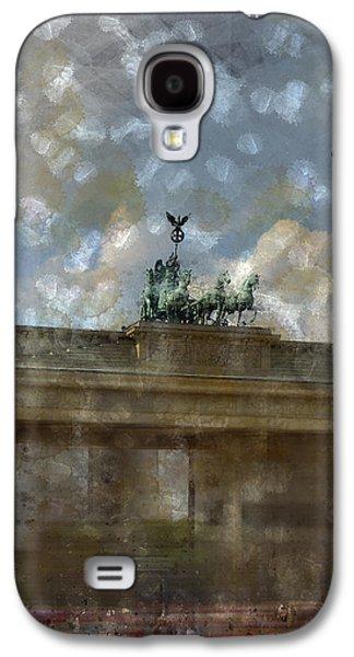City-art Berlin Brandenburger Tor II Galaxy S4 Case by Melanie Viola