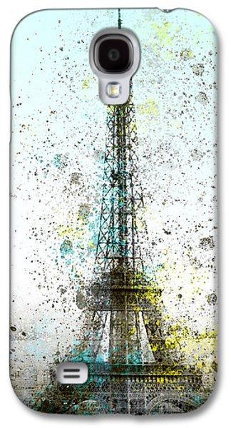 City-art Paris Eiffel Tower II Galaxy S4 Case by Melanie Viola