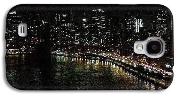 Light Galaxy S4 Case - City Lights - New York by Joel Lopez