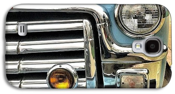 Classic Galaxy S4 Case - Classic Car Headlamp by Julie Gebhardt