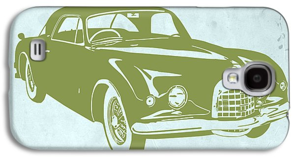 Classic Car Galaxy S4 Case by Naxart Studio