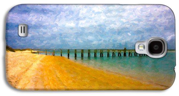 Coastal Dreamland Galaxy S4 Case by Betsy Knapp