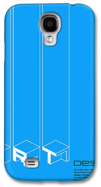 Collin Wright Quote Poster Galaxy S4 Case
