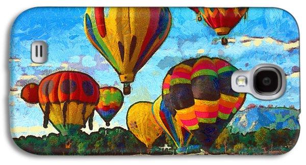 Colorado Springs Hot Air Balloons Galaxy S4 Case