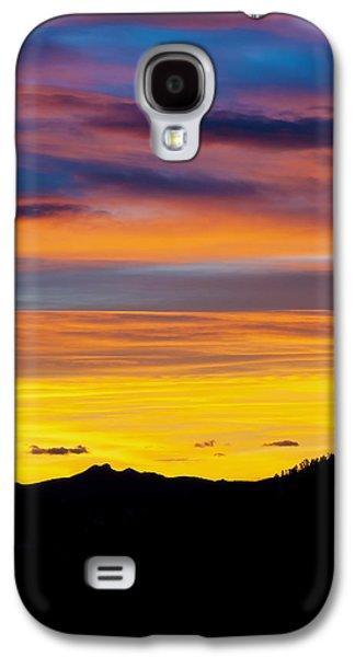 Colorado Sunrise -vertical Galaxy S4 Case by Beth Riser