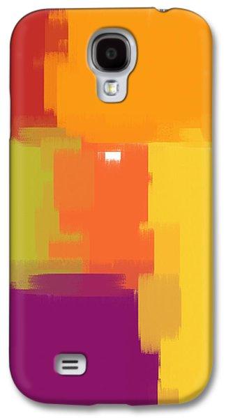 Colorblock Galaxy S4 Case by Heidi Smith