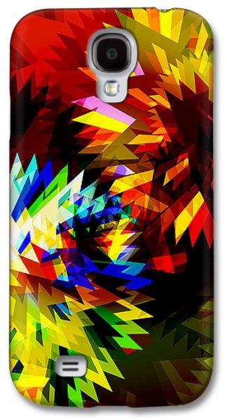 Colorful Blade Galaxy S4 Case by Atiketta Sangasaeng