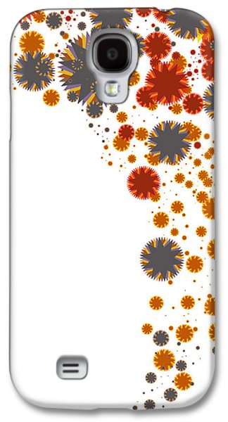 Colorful Blades Galaxy S4 Case