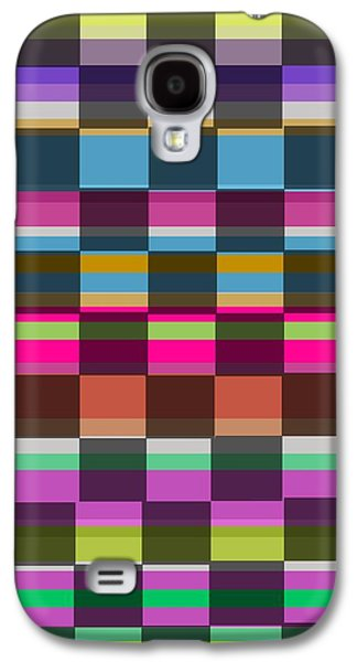 Colorful Cubes Galaxy S4 Case