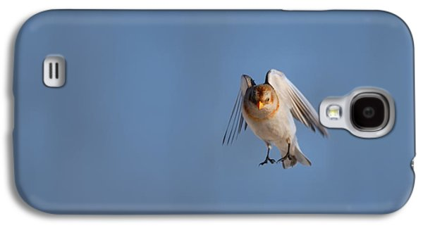 Bunting Galaxy S4 Case - Coming In For A Landing by Susan Capuano