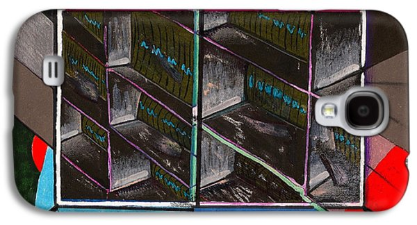 View Out In The Subway Tunnel Galaxy S4 Case by Al Goldfarb