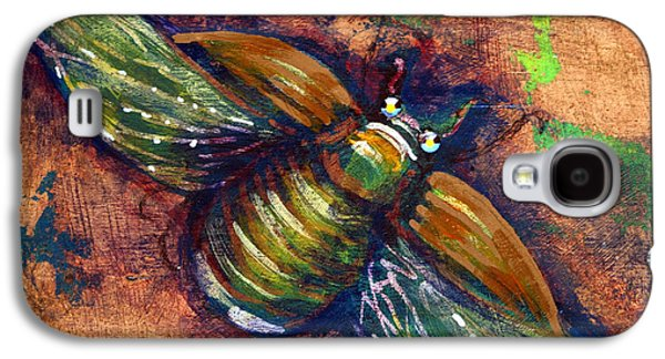 Copper Beetle Galaxy S4 Case