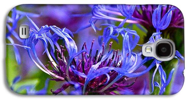 Cornflower Color Galaxy S4 Case by Byron Varvarigos