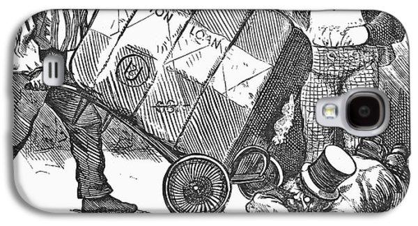 Cotton Loan Cartoon, 1865 Galaxy S4 Case by Granger