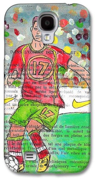 Cristiano Ronaldo Galaxy S4 Case by Jera Sky