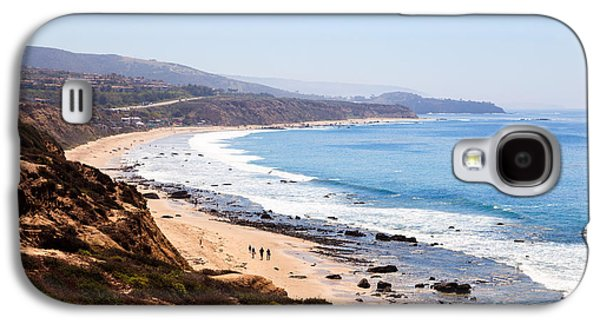 Crystal Cove Orange County California Galaxy S4 Case by Paul Velgos