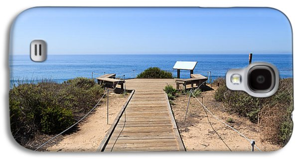 Crystal Cove State Park Ocean Overlook Galaxy S4 Case by Paul Velgos