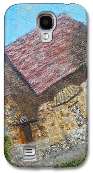 Cyprus Asinou Church Galaxy S4 Case by Augusta Stylianou
